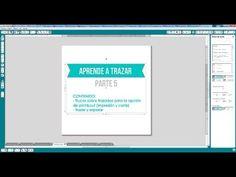 Aprender a trazar en Silhouette Studio Parte 5 (Español) - YouTube
