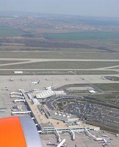 Ferihegy Airport - Budapest, Hungary - renamed - Liszt Ferenc International Airport
