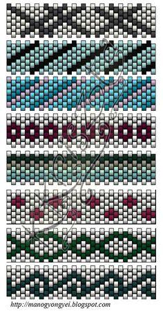 'Mano' gyöngyékszer tervező kézműves ékszerei: Változatok Luca bogyóra
