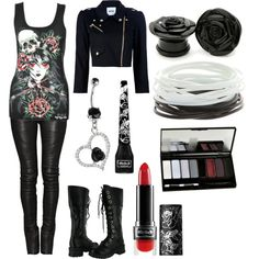 """""""Untitled #407"""" by forever-ur-sickest-hoe on Polyvore"""