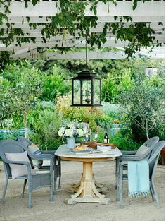 This lantern brings such a great mood to an outdoor space. Great for relaxing and entertaining guests.