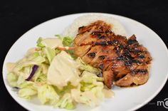This a simple way to make a Teriyaki chicken, its basically only about choosing juicy meat and great sauce. Letting the chicken marinate and the best way to get great tasting texture is to grill the chicken.