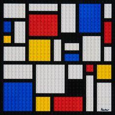 Legos en Mondrian