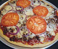 Cheeseburger Pizza   my kitchen addiction