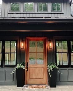 Exterior paint and plants