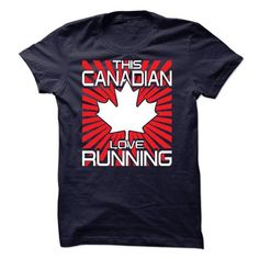 This Canadian Loves Running T Shirts, Hoodies, Sweatshirts
