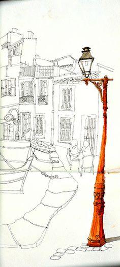 croqu'matin à Martigues by Trez M, via Flickr