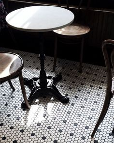 Tiles - Black Crow Cafe.