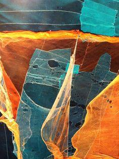 Nets used for drying algae, Wando archipelogo, South Korea, Yann Arthus-Bertrand