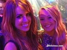May 16, 2013 — Angie Miller and Janelle Arthur. American Idol finale after party. Nokia Theater in LA. photo credit: Ifelicious
