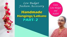 Making Latkan from waste material Budget Fashion, Diy Fashion, Find Us On Facebook, Shirt Refashion, Indian Designer Outfits, Polymer Clay Jewelry, Budgeting, Fashion Accessories, Arts And Crafts