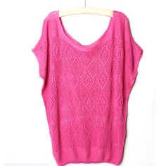 elegant Hollow Knit Shirt pullover O neck Batwing sleeve knitwear stylish Casual Slim knitted sweater Tops HT
