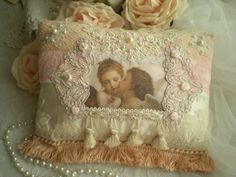 RESERVED for Linda...Romantic Chic Victorian Inspired Accent Pillow OOAK By SincerelyRaven On Etsy