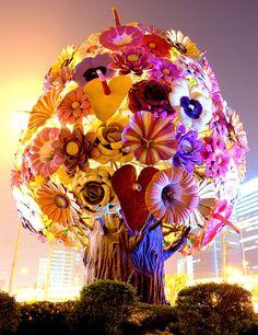 CHOI JEONG HWA-- all shades of pink...all shades of love, hope and joy.