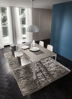 Table/Console, made of FENIX NTM Castoro Ottawa. Designed by La Primavera.