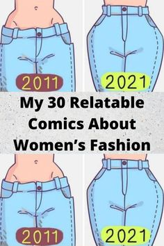My 30 #Relatable #Comics About #Women's Fashion