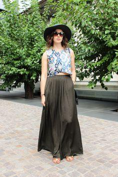 Arara Pintada: Bye Bye 24, Hello 25! #fashion #look #outfit #ootd #lbd #croptop #oasis #hat #fall