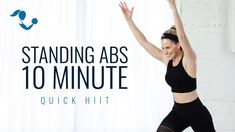 Standing Ab Exercises, Standing Abs, 5 Minutes Workout, Hiit Program, Compound Exercises, Reduce Weight, Losing Weight, Weight Loss, Health And Fitness Articles