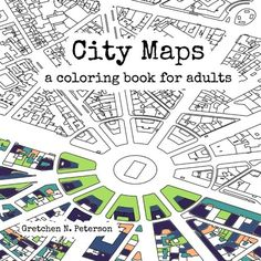 - 14 Great Map Geography City & Travel Adult Coloring Books
