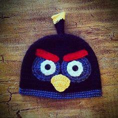 Angry Bird crochet hat angry bird hat photo by LittleAngelssecret, $23.00