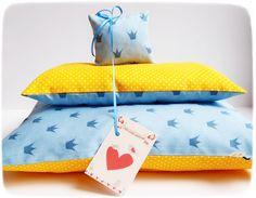 """Puppenwagen - Puppenbettzeug: """"Princess"""" - ein Designerstück von Miss_Rosaly bei DaWanda"""