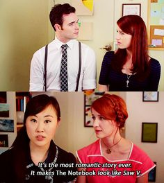 """""""The most romantic story ever, it makes The Notebook look like Saw V,"""" -Charlotte, The Lizzie Bennet Diaries"""