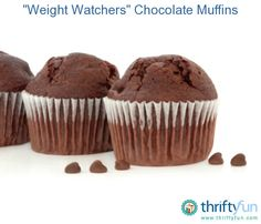 This is a guide about Weight Watchers chocolate muffins. Even on a diet you can still satisfy your chocolate craving.