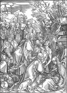 The Entombment (c. 1497) - Albrecht Durer