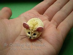 Quilled Mouse - Quilled Creations Quilling Gallery