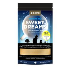 Domo Tea Sweet Dreams Caffeine-Free Bedtime Tea - Case x Tumeric Latte, Tea Latte, Night Time, Matcha, Bedtime, Sweet Dreams, Instagram Posts, Sleep, Collections