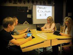 Savonlinnan normaalikoulun 5b-luokka Kuva: Kimmo Nyyssönen