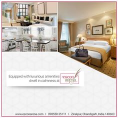 At #EsconArena, we offer the #best_in_class #amenities to bring you a step closer in converting your dream home into reality. Unshackle from mediocrity and grab keys to your humble abode. 2, 3 & 4 BHK #Flats in #Zirakpur, #Chandigarh www.esconarena.com