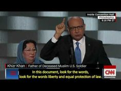 2016, July 28 – Khizr and Ghazala Khan speech at DNC – open captioned – full transcript – The Closed Captioning Project LLC, sponsored by Accurate Secretarial LLC