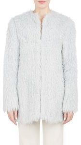 f*ck yeah fur - Derek Lam 10 Crosby Mint faux-shaggy-fur coat....