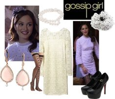 """Gossip Girl 1x02 - Blair"" by rossellalola on Polyvore"