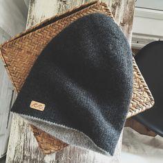 Cashmere handknitted beanie