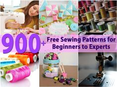 Sewing is great, isn't it? Even if you are not considered an expert sewer, there is just something about finding great free patterns and boy, do we know where you can get a lot of them. More than 900 in fact (Click to visit the free pattern directory). These patterns contain everything that...
