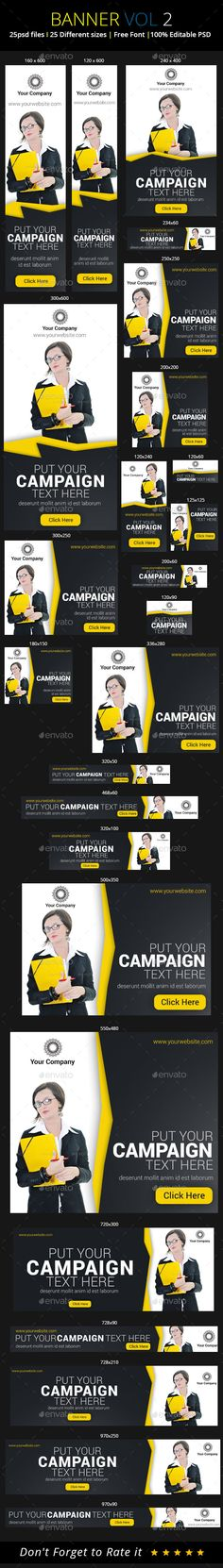 Buy Multipurpose Banner by abira on GraphicRiver. This is a Multipurpose Stylish banners which is fully editable. Website Promotion, Sale Promotion, Advertising, Ads, Banner Template, Goods And Services, Banner Design, Presentation, Web Banners
