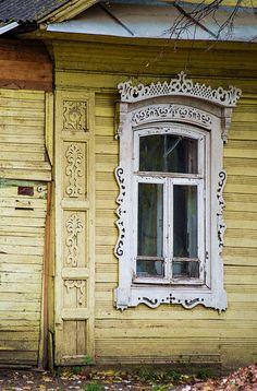 - by Cris Figueired♥ Wooden Architecture, Russian Architecture, Amazing Architecture, Architecture Details, Victorian Architecture, Wooden Windows, Old Windows, Windows And Doors, Rostow Am Don