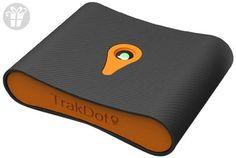 Trakdot Luggage Tracker, Black/Orange, One Size (*Amazon Partner-Link)
