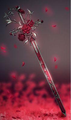 [ Đấu la 2 ĐN]-Mật mã tình yêu-Huỳnh Thắm Giới thiệu nữ chính в 2020 г Armes Concept, Espada Anime, Cool Swords, Sword Design, Fantasy Sword, Anime Fantasy, Anime Weapons, Weapon Concept Art, Magic Art