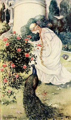 Anne Anderson ~ Emily~Stories from Chaucer~ 1913 ~via