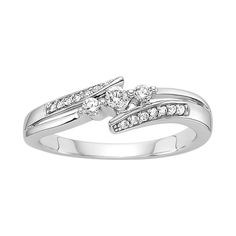 Fred Meyer Jewelers | 1/5 ct. tw. Diamond Promise Ring