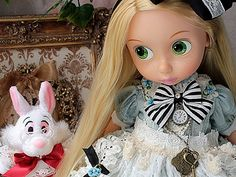 Rapunzel in Wonderland ! ! (´・ω・`) ! by tokyosho, via Flickr