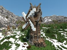 Nordic - Medieval Windmill