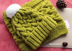 Must Learn Crochet Stitch Tutorial - Crochet Ideas Knitting Videos, Crochet Videos, Knitting Stitches, Knitting Projects, Baby Knitting, Crochet Projects, Bonnet Crochet, Crochet Beanie, Knitted Hats