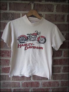 Vintage 80's Dudley Perkins Harley Davidson Shirt by CharchaicVintage, $18.00