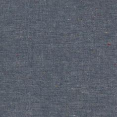 Chambray Union : Indigo with Coloured Dots Nep Chambray : 54' wide...