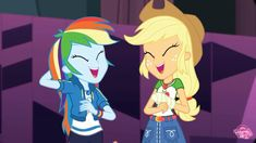 I Love You Girl, Dog Love, Mlp, Rainbow Dash And Soarin, Canon Ship, Hasbro Studios, Equestrian Girls, Girls Series, My Little Pony