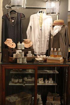 Visual Merchandising | Display | bath products display